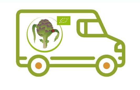Immagine di un furgone per la consegna a domicilio
