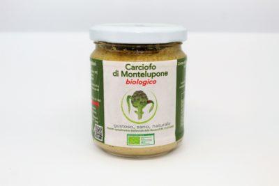 Crema di Carciofo di Montelupone bio in olio EVO